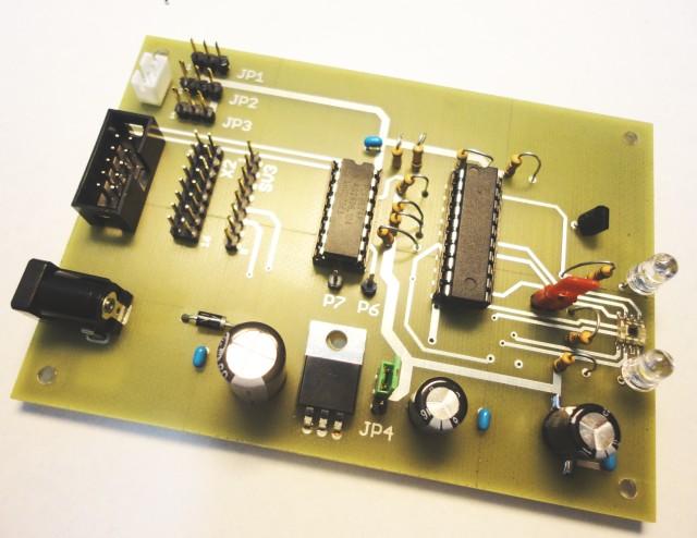 Elektronik-Projekte - Farbsensorplatine